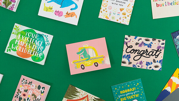 collection of everyday greeting cards